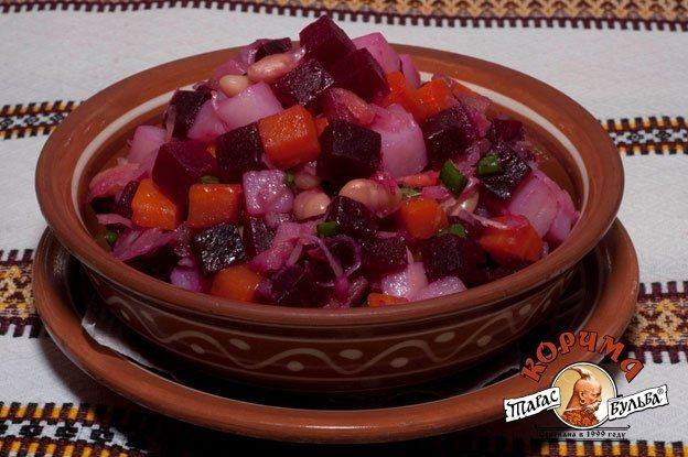 Украинские салаты рецепты