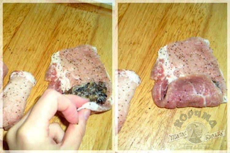 Рулет из свинины пошаговый рецепт с фото