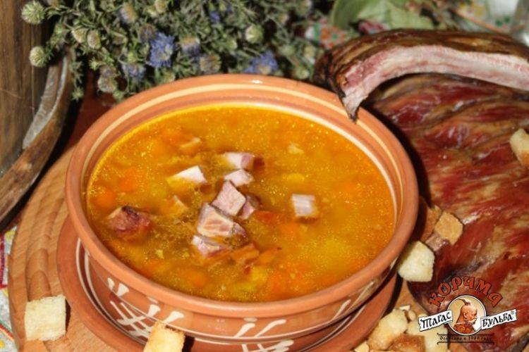 Гороховый суп с копченостями рецепт в домашних условиях