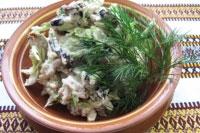 Салат «Ореховый»