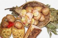 Картофель запеченный в беконе
