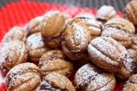 Печенье орешки с начинкой
