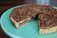 Ореховый пирог с шоколадом
