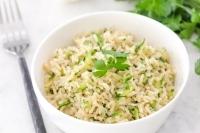 Как приготовить рис с цуккини