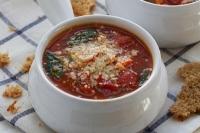 Итальянский суп с орзо