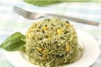 Рис со шпинатом (Палак плов)