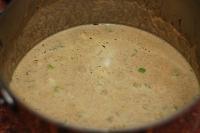 Крем-суп с шиитаке