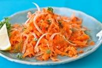Салат из моркови с фенхелем