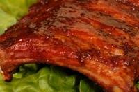 Свиные ребра с соусом барбекю